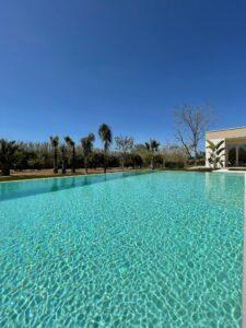 Dependance e piscina, the swimming pool